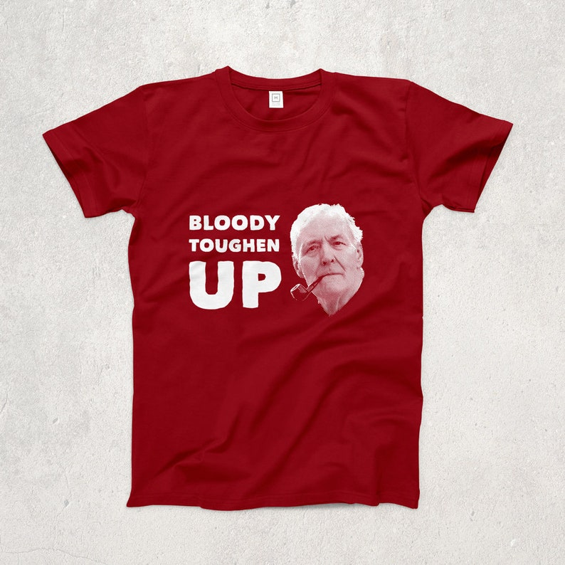 Ringspun T Shirt >> Tony Benn Bloody Toughen Up Ringspun T Shirt Politics Etsy
