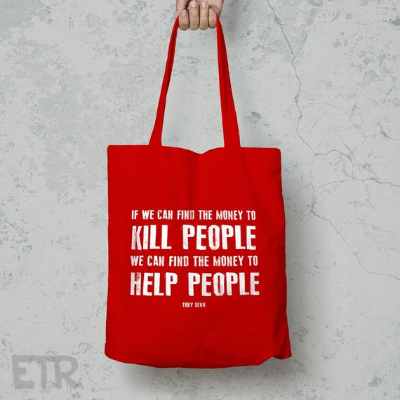 Money To Help People Westford Mill Tote Bag Long Handles    8afd5fe520310