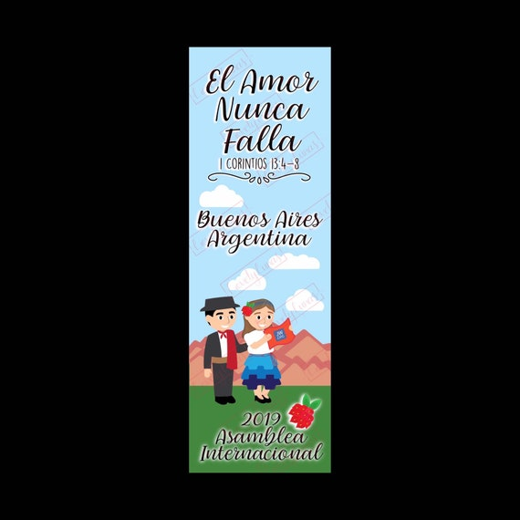 Argentina JW International Convention Gifts Bookmarks SPANISH - Buenos Aires