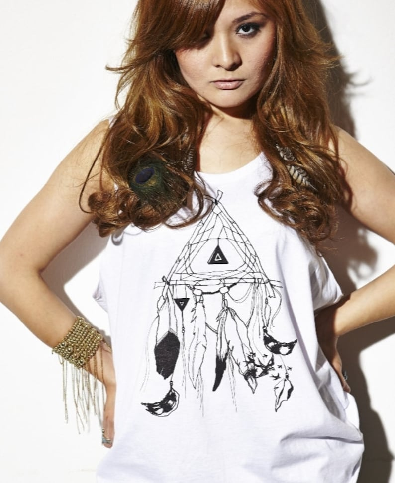 Tanktop  Girls  Dream Catcher image 0