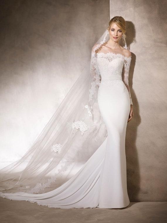 Wedding Dress Hadrea By La Sposa Bridal Gown Etsy