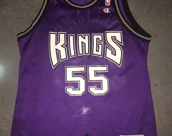 6003bb5c8 Jason Williams Champion Jersey 40 Sacramento Kings Vintage 1990s NBA  Basketball