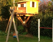 Treehouse made of spruce solid indiv. Dimensions