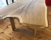 Dining table Diningtable made of an oak plank quality from the Lower Rhine