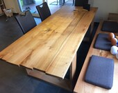 Table dining table made of cherry wood solid