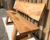 Bench garden bench for the garden from ash oiled quality from the Lower Rhine