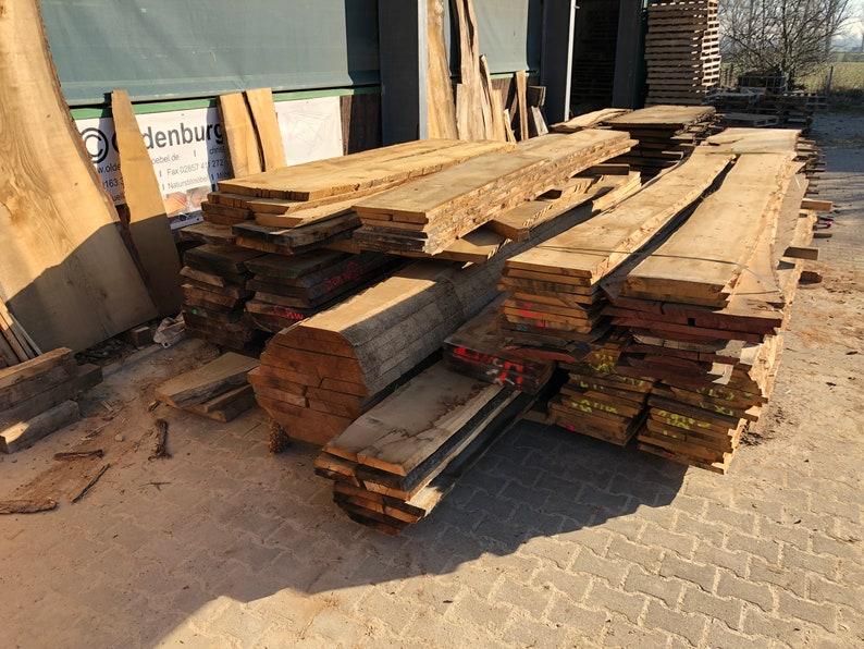 Oak Wood Bean Bean Boards solid wood Dried image 0