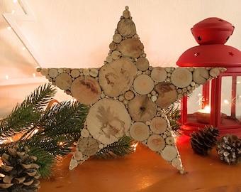 STERN Treibholz, Holz Meer Geschenkidee, Holzdeko, Deko Weihnachten,  Weihnachtsdekoration