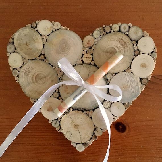 Geldgeschenk Hochzeit Herz Holz Deko Hochzeitsgeschenk Geld Etsy