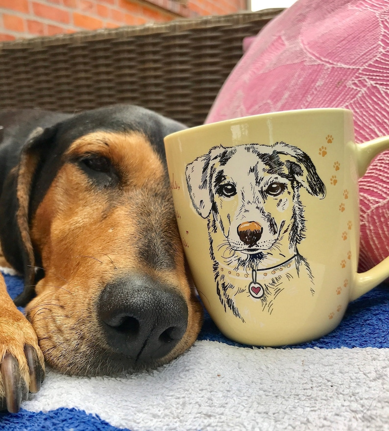 GentleCat© Animal Protection Mugs  Dog image 0