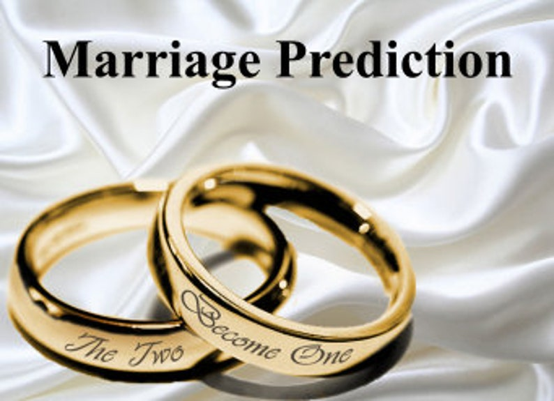Accurate Marriage Prediction, Astrological Reading, When will I get  married? love and relationship reading, Psychic Reading