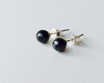 Hematite earrings 925 silver