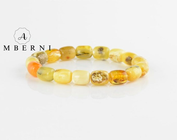 Yellow Baltic Amber Bracelet