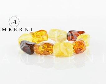 Natural Mix Color Amber Bracelet
