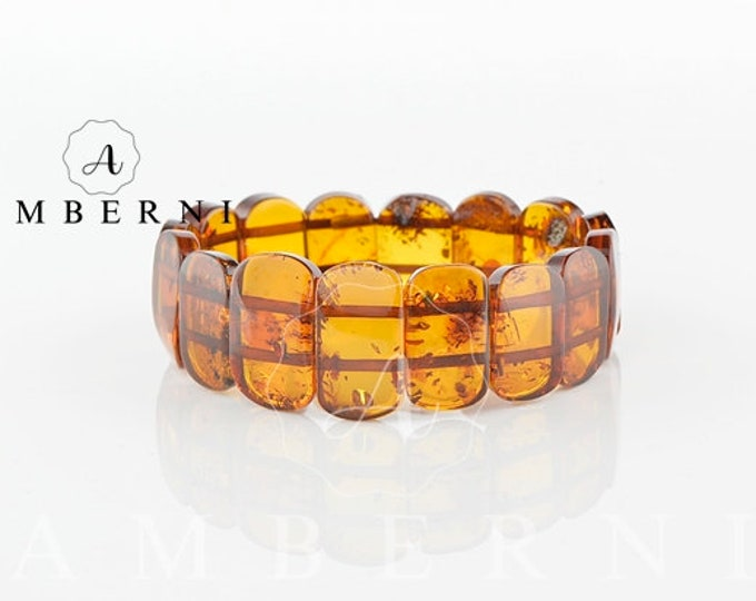 Baltic Amber Bracelet - Polished Amber