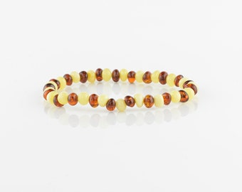 Baltic amber bracelet for girls, amber bracelet, Natural amber, 5310