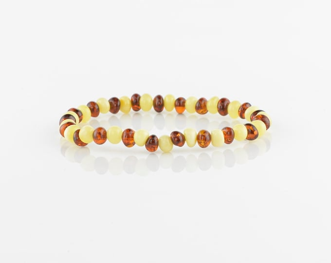 Baltic amber bracelet for girls, amber bracelet, Natural amber, 5310