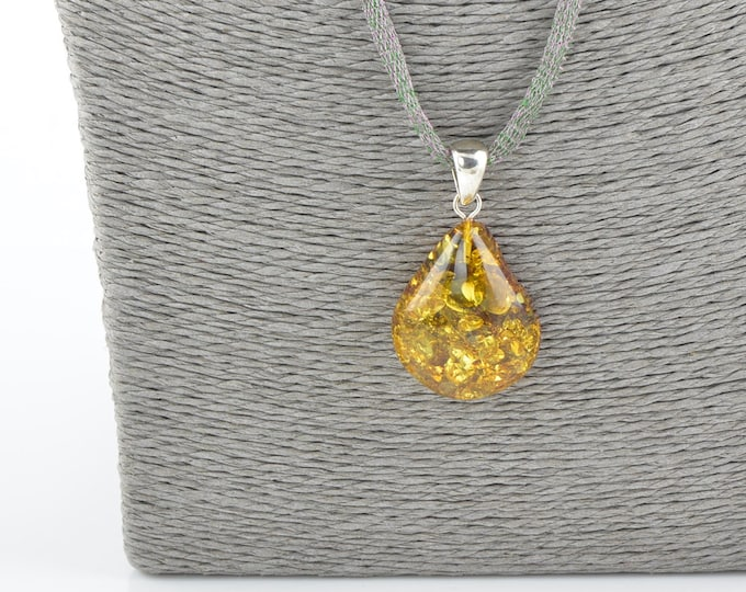 Amber pendant, Amber piece, Amber pendant for women, Gift idea, Present gift, 1465