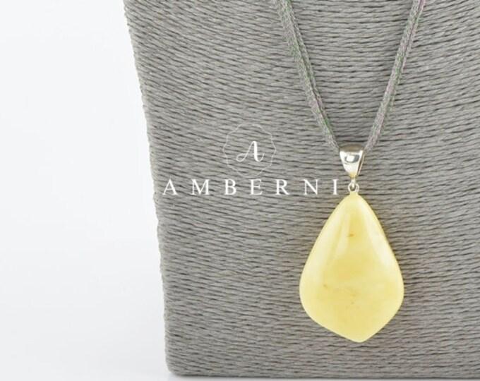 Baltic Amber Pendant Large Stone