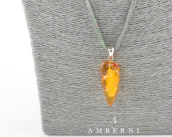 Baltic Amber Pendant, Natural Amber