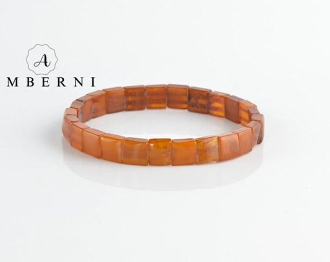Natural Butterscotch Amber Bracelet