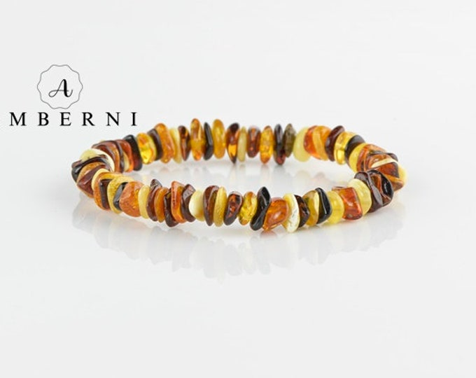 Baltic Amber Bracelet Chips Beads