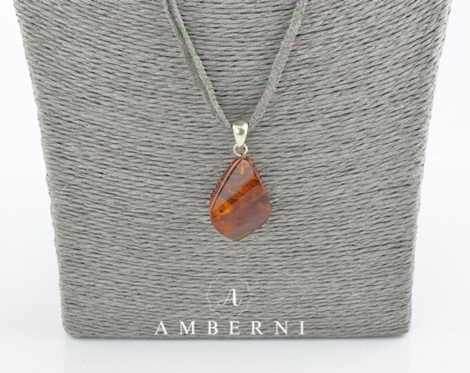 Baltic amber, Pendant jewelry, Unique pendant, Pendant, 7814