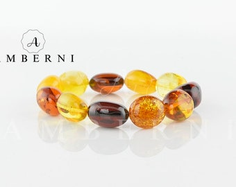 Amber Bracelet Mix Color Beads