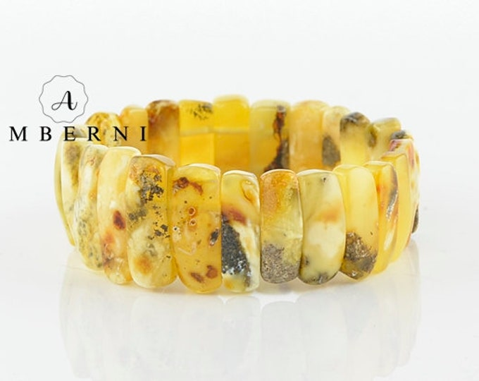 Amber Bracelet - Adults Bracelet - Bracelet with Amber