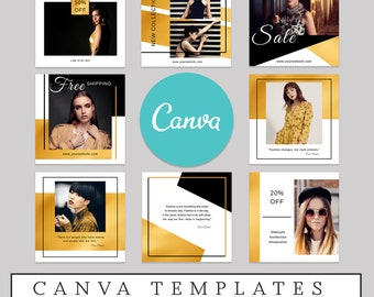 Canva Template Etsy