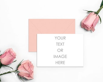 Download Free product mockup, stock photo, card and envelope mockup, desktop mockup, styled photography, invitation mock up, smart object, blank card PSD Template