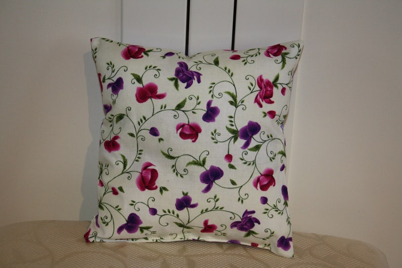 orchid Lavender Pillow embroidered with wish name