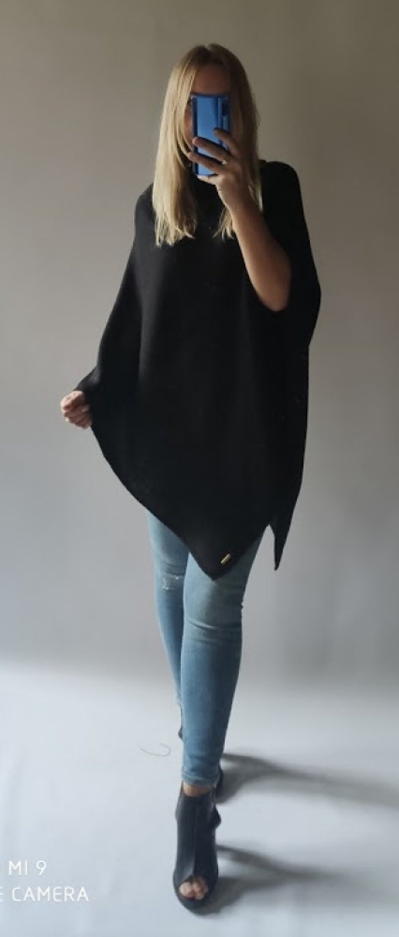 smooth poncho Classic
