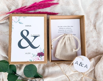 Gift box ANNA money gift wedding