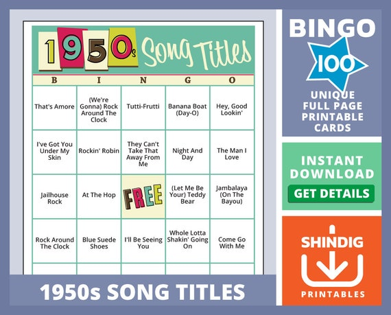 This is an image of Musical Bingo Cards Printable intended for basic bingo