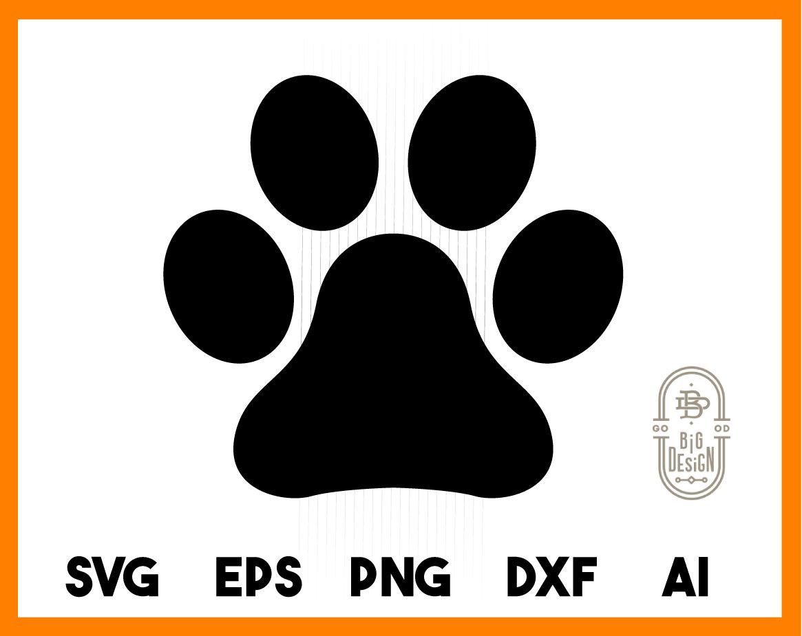 Download Paw SVG Cut File paw print svg Pet Paw Dog Paw Cat Paw   Etsy