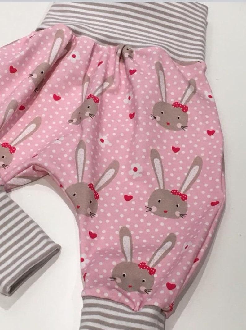 Jersey Pumphose Funny Bunny Size 56-104