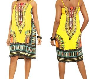 cf4345f37f2 Sleeveless Smoking Dashiki Dress african dresses for women dashiki for women  african print dresses for women african dashiki
