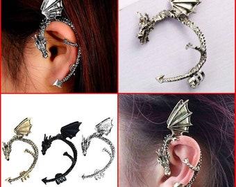 33ce6c6aa Gothic Dragon Ear Cuff no ear piece