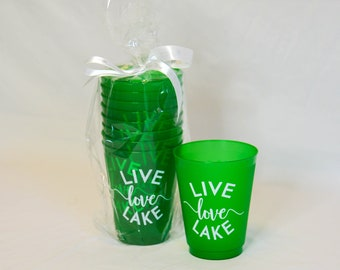 Live Love Lake Pack of Cups (8)