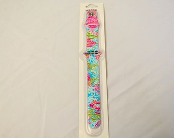 lilly pulitzer apple watch band etsy