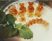 Herbal Gummies Sage, Rosemary, Lemongrass Catmint or Meadowsweet, Pineapple Weed, Lemon Balm and Dandelion 4 Colds, Flu, Sleep and Health