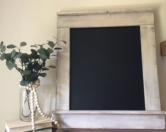 Rustic Chalkboard, Kitchen Chalkboard, Framed Chalkboard, Farmhouse  Chalkboard, Playroom Decor, Wedding Sign, Wedding Chalkboard