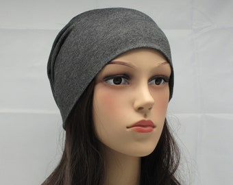 Summer Beanie for Women Thin Lightweight Sleeping Headwear Slouchy Men  Unisex Head Covering Alopecia Soft Chemo Chemotherapy Cap BadHair Day c26e2ea99c9