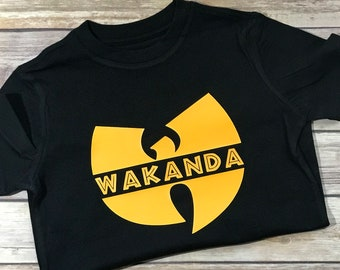 312435ee8b4 Wu-Tang Wakanda Shirt - Different Sizes Available - Wakanda Shirt - Black  Panther Shirt - Black Panther - Killmonger - Wakanda Forever