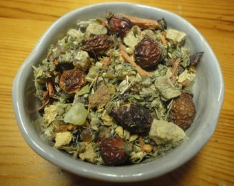 Women's Power Incense, Smoked Blend, Incense Herbs, Flowers, Woods, Resins