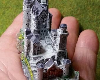 Neuschwanstein Castle, Miniature, Decoration