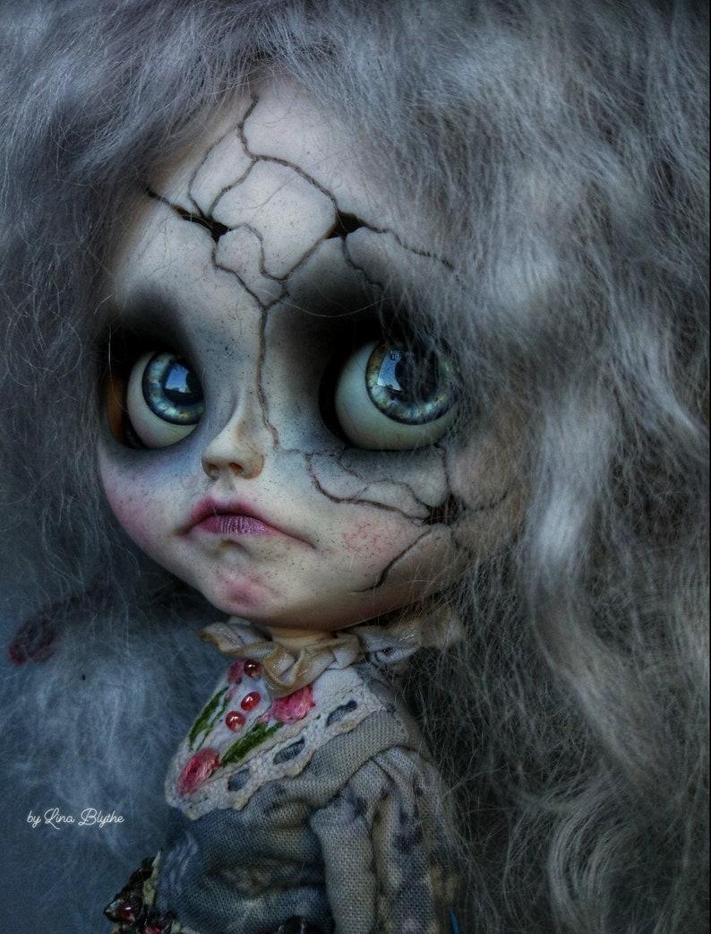 Amadeya SOLD OUT Blythe Doll OOAK / Scalp wool reroot image 2