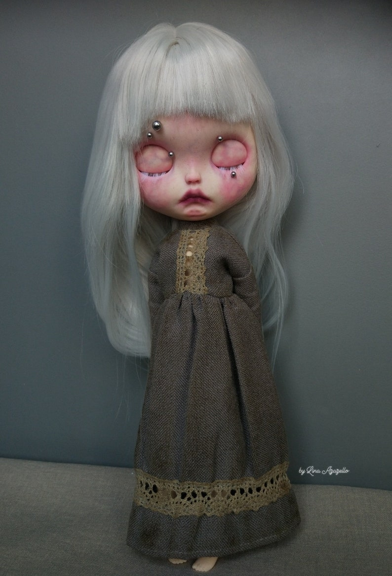 Gretta Albino SOLD OUT Blythe Doll OOAK image 6