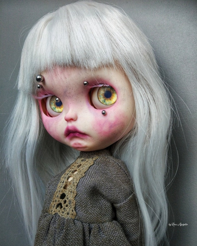 Gretta Albino SOLD OUT Blythe Doll OOAK image 0